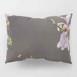 Time to Shine - Magnolia Flowers Pillow Sham