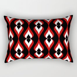 Abstract leaves pattern Rectangular Pillow