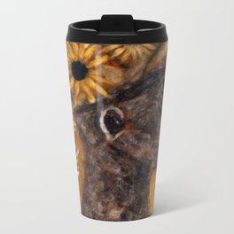 The Face Vase More Color Metal Travel Mug