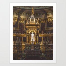 The Alter. Art Print