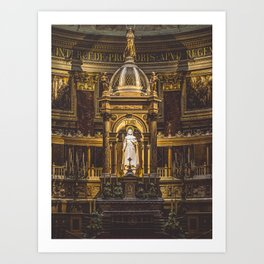 The Alter. Art Print