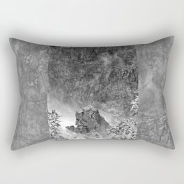 Rocks in the falls Rectangular Pillow