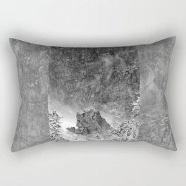 Rocks in the falls Rectangular Pillow