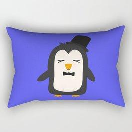 Penguin with suit   Rectangular Pillow