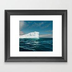 North Atlantic Iceberg Framed Art Print