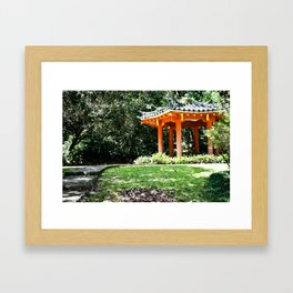Asian Path Framed Art Print