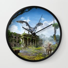 Dublin [Horizon Zero Dawn] Wall Clock