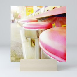 Carnival Collection - Midway Seats Mini Art Print