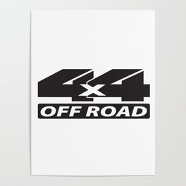 4x4 off road Poster