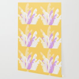 The Pale Banana Tree Wallpaper