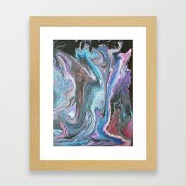 Creepy Forest Framed Art Print
