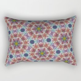 Glass Bead Kaleidoscope Rectangular Pillow
