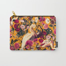 FLORAL AND BIRDS XVI Carry-All Pouch