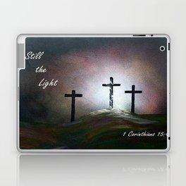 Still the Light Scripture Painting Laptop & iPad Skin
