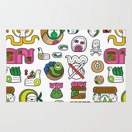 New Maya Language Rug