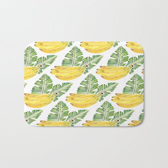 Banana Bunch – Green Leaves Bath Mat