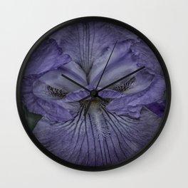 Eye of the Iris Wall Clock