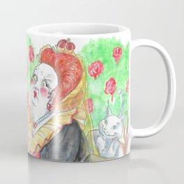 Alice's Adventures In Wonderland: Queen Of Hearts Coffee Mug