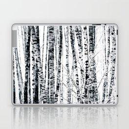 Birch Trees In Winter Laptop & iPad Skin