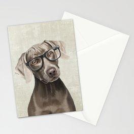 Mr Weimaraner Stationery Cards