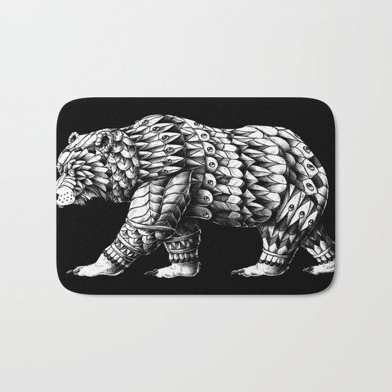 California Bear Bath Mat
