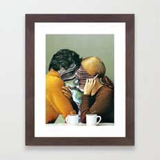 A Creek Between Us Framed Art Print