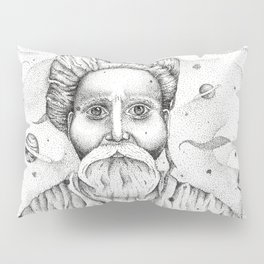 Aim for the moon, land in the stars Pillow Sham