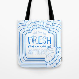Fresh New Ways – Blueberry Tote Bag