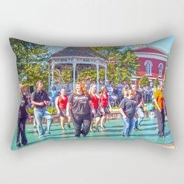 Home Town Fun Rectangular Pillow