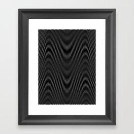 Lines 28J Framed Art Print