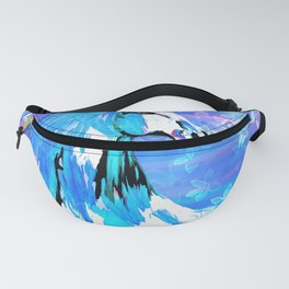 RIDE THE BLUE HORSE Fanny Pack