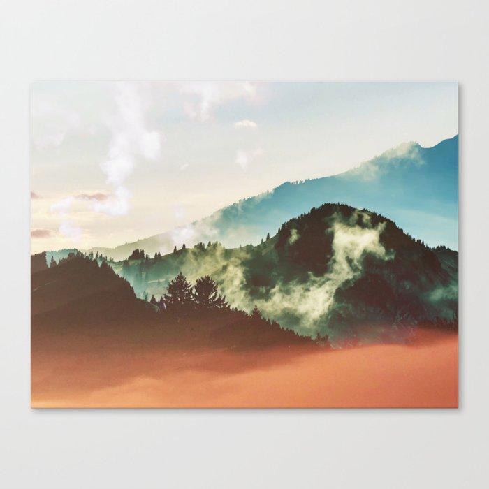 Mighty Mountain #society6 #decor #buyart Canvas Print