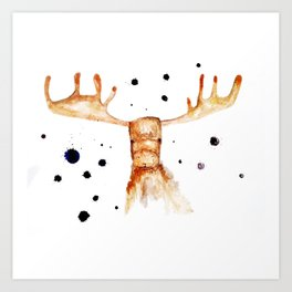 Vibrant Art Print