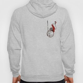 The Lady Athena, Goddess of Wisdom and War Hoody