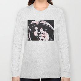 Notorious Big - Who Shot Ya? Long Sleeve T-shirt