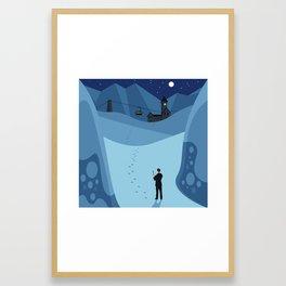 Skyrail Framed Art Print