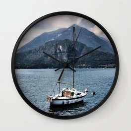 Rock Me On The Water Wall Clock