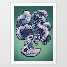 Breakable Medusa Art Print