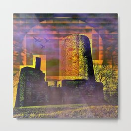 Castle-Art Metal Print