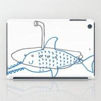 submarine iPad Cases featuring Submarine by Ena Jurov