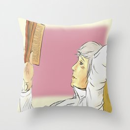 Will's book thief Throw Pillow