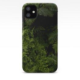 Tropical jungle. iPhone Case