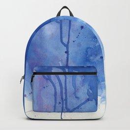 Crackling blue Backpack