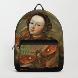 """Myth Lucretia Death Moths"" Backpack"