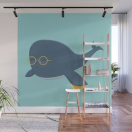 Ms. Whale Wall Mural