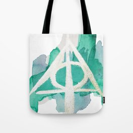 Watercolor Hallows Tote Bag
