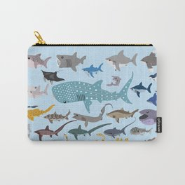 I Heart Sharks Carry-All Pouch