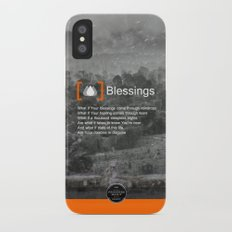 Blessings iPhone X Slim Case