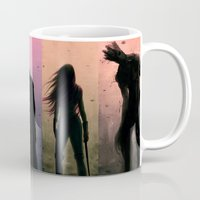 guardians Mugs featuring The Guardians.  by Varsha Vijayan