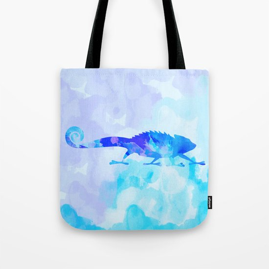 Abstract Chameleon Reptile Tote Bag